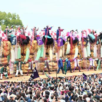 2年連続の太鼓祭り