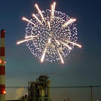 2020年夏。新居浜の花火。