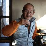 「新居浜市で活躍する画家の飯島 浩さん」